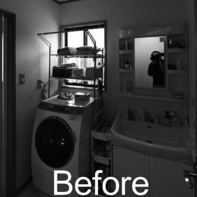 Before 洗面台